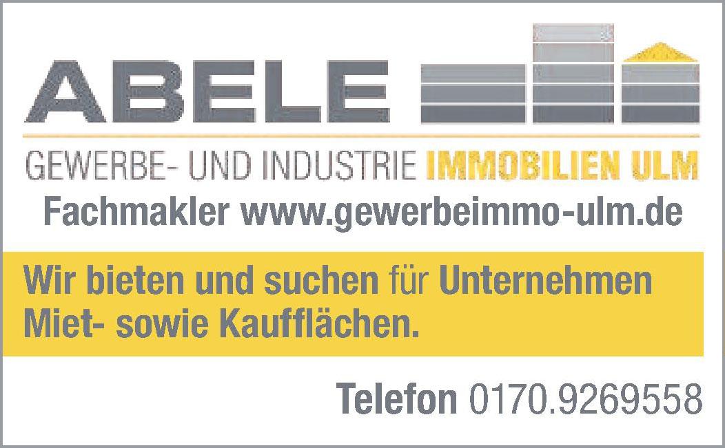 Abele Gewerbe- und Industrie Immobilien Ulm