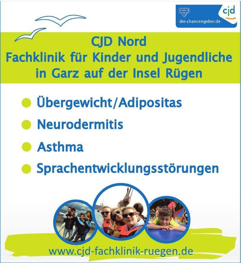 CJD Nord Fachklinik für Kinder und Jugendliche
