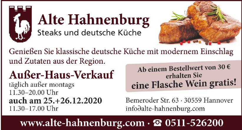 Alte Hahnenburg
