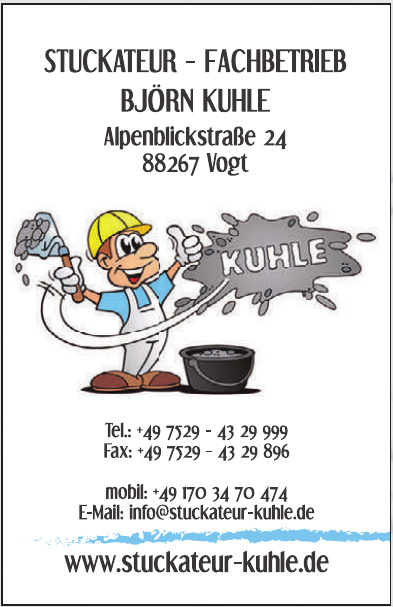 Stuckateur - Fachbetrieb Björn Kuhle