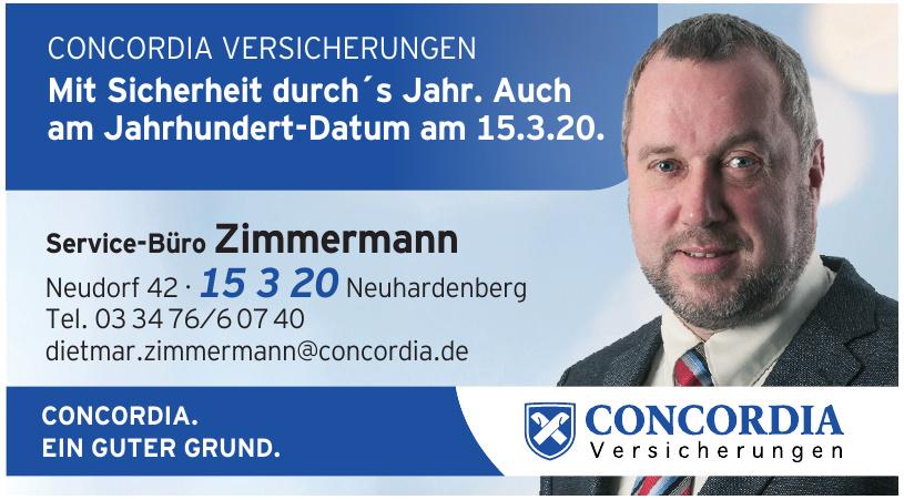 Concordia - Service-Büro Zimmermann