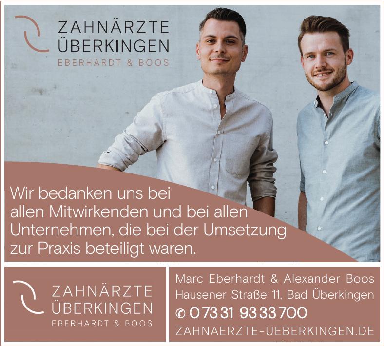 Zahnärtze Überkingen Eberhardt & Boos
