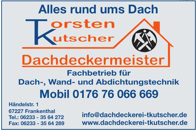 Torsten Kutscher Dachdeckermeister