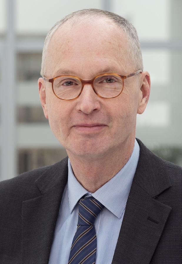 Prof. Dr. Heiner Mönig, Endokrinologe in der 3. Medizinischen Klinik, Städtisches Krankenhaus Kiel