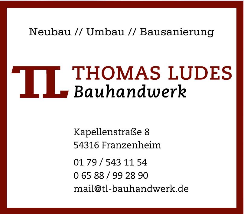 Thomas Ludes Bauhandwerk