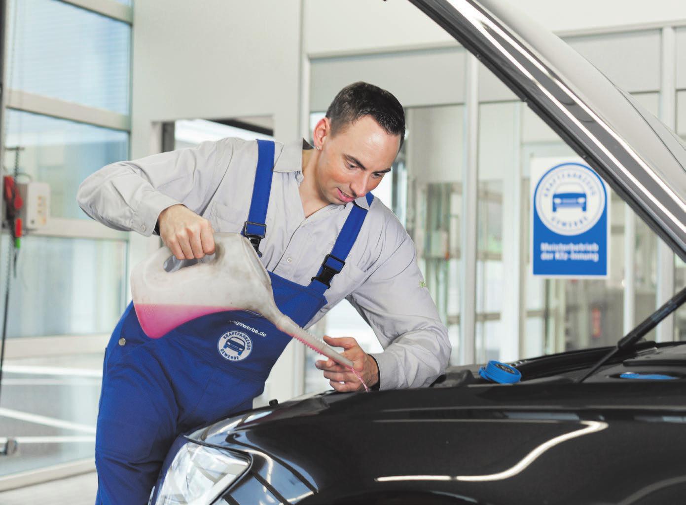 Vor der Fahrt in den Urlaub sollte das Auto in der Werkstatt fit gemacht werden. Fotos: T. Volz