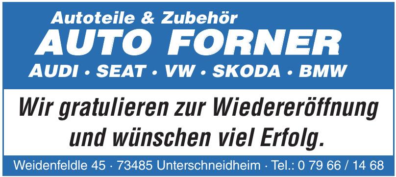 Autoteile & Zubehör Auto Forner