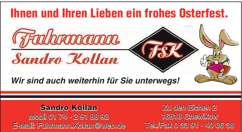 Fuhrmann - Sandro Kollan