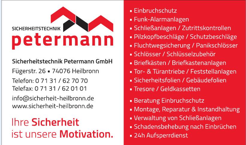 Sicherheitstechnik Peterman GmbH