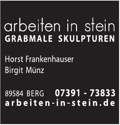 Arbeiten in Stein