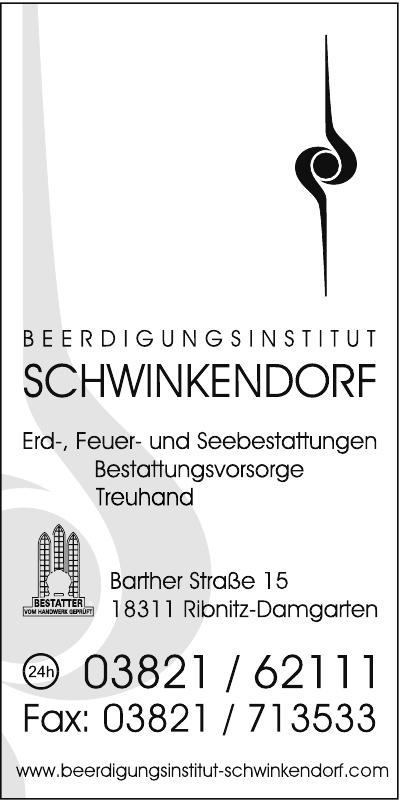 Beerdigungsinstitut Schwinkendorf