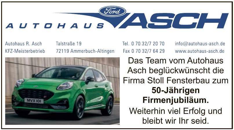Autohaus R.  Asch