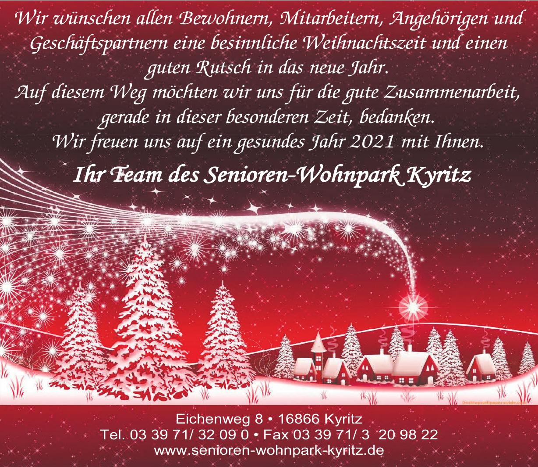 Senioren-Wohnpark Kyritz