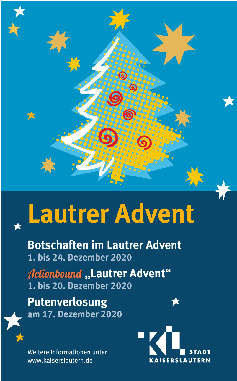 Stadt Kaiserslautern Lautrer Advent