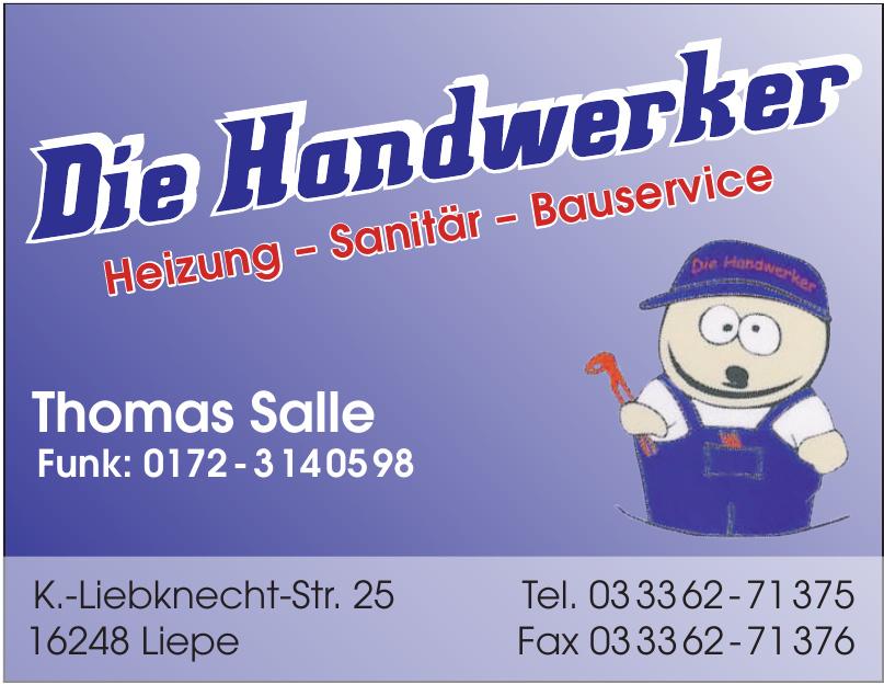 Die Handwerker - Thomas Salle