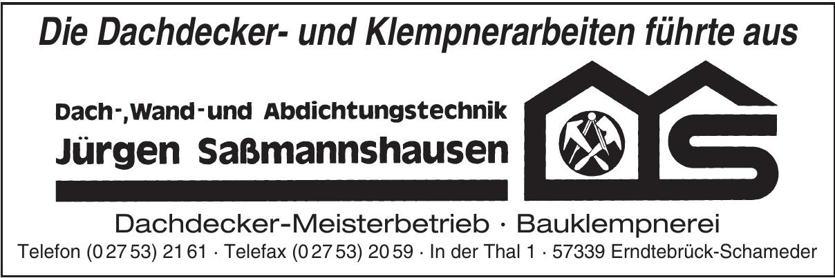 Jürgen Sassmannshausen Bedachungsgeschäft