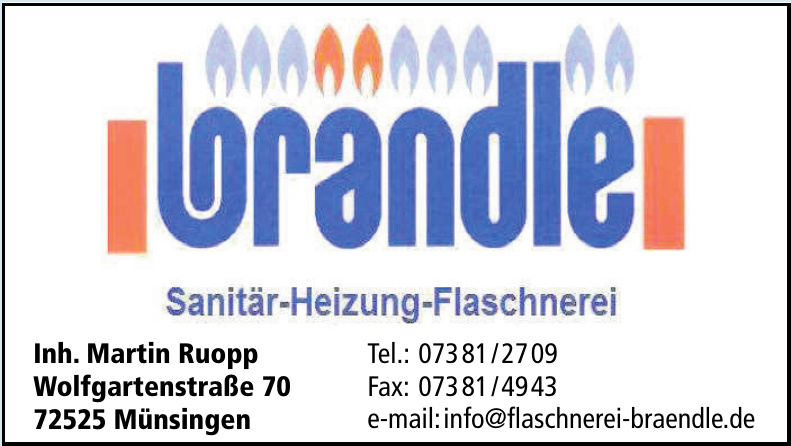 Brändle Sanitär-Heizung-Flaschnerei