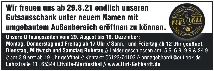 Weingut Hirt-Gebhardt GbR