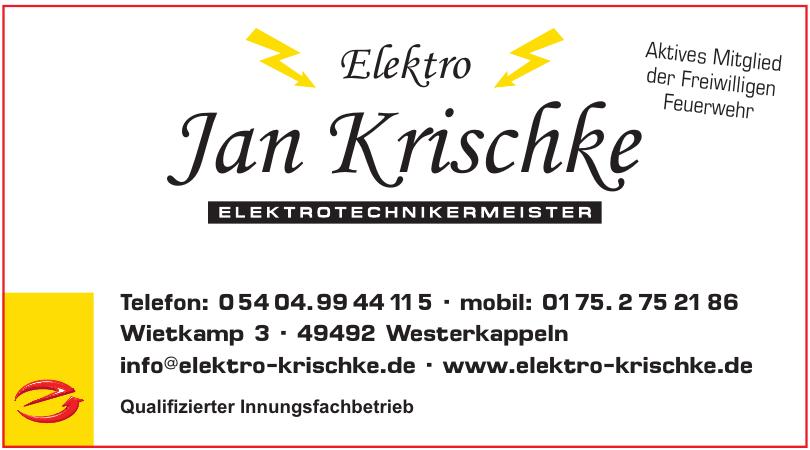 Elektro Jan Krischke
