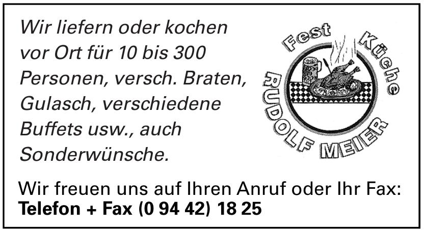 Rudolf Meier Fest Küche