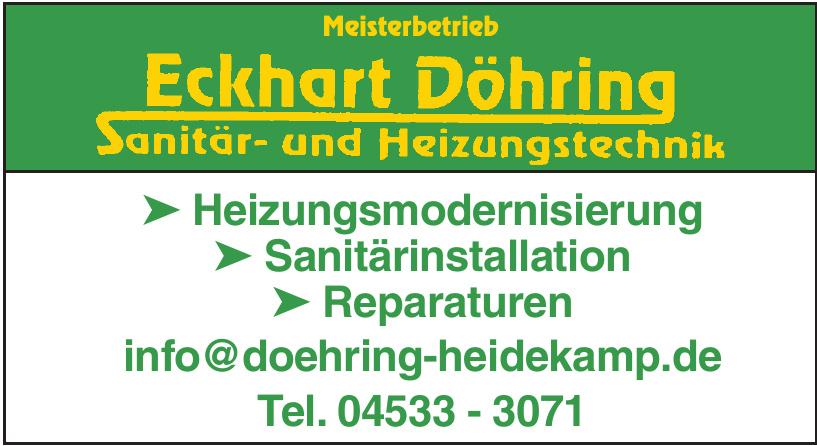 Eckhard Döhring Sanitär- und Heizungstechnik