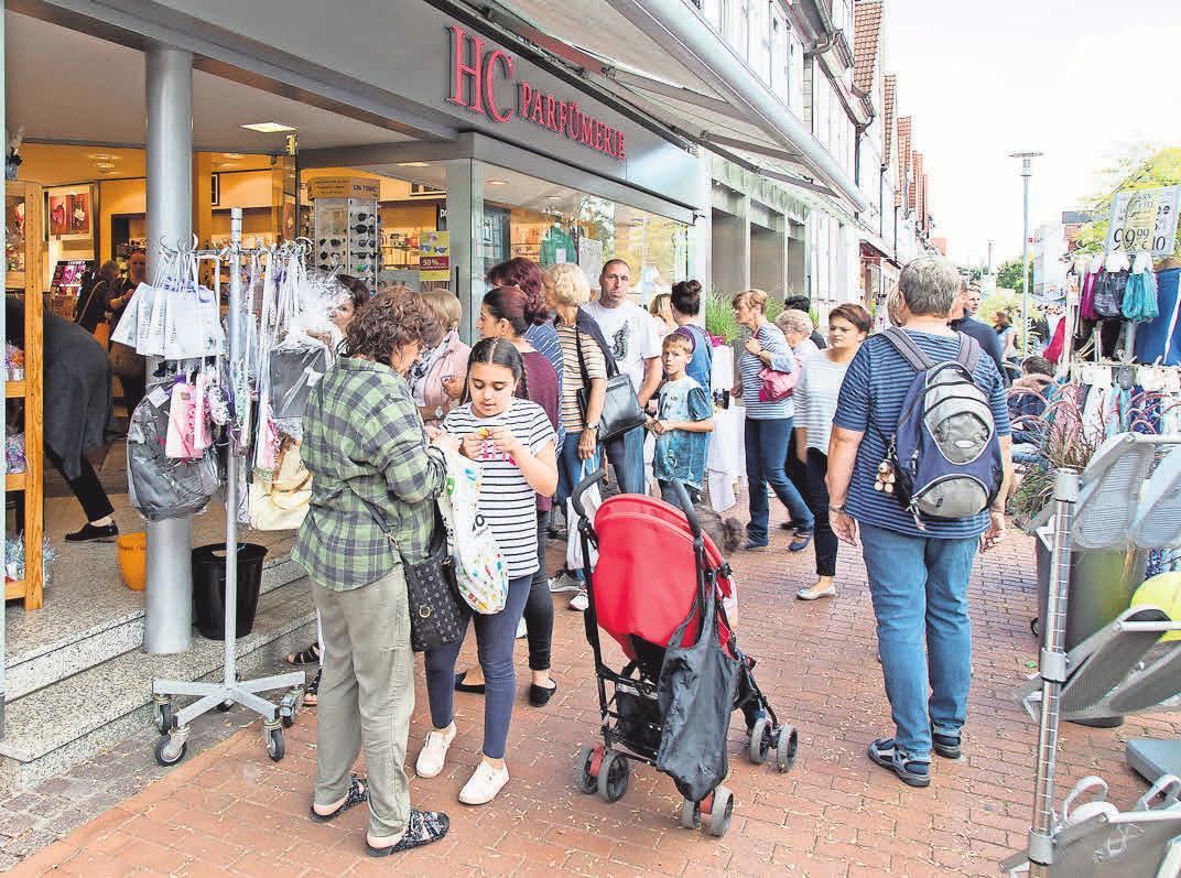 Viele Geschäfte haben am Verkaufsoffenen Sonntag geöffnet