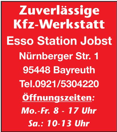 Zuverlässige Kfz-Werkstatt Esso Station Jobst