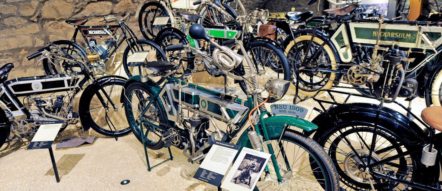 """Fans historischer Maschinen kommen am Festwochenende bei der Sonderschau """"Meister aller Klassen"""" im Zweiradmuseum auf ihre Kosten. Foto: Archiv/Veigel"""