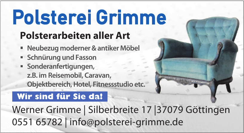 Polsterei Grimme - Werner Grimme