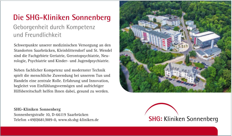 SHG-Kliniken Sonnenberg