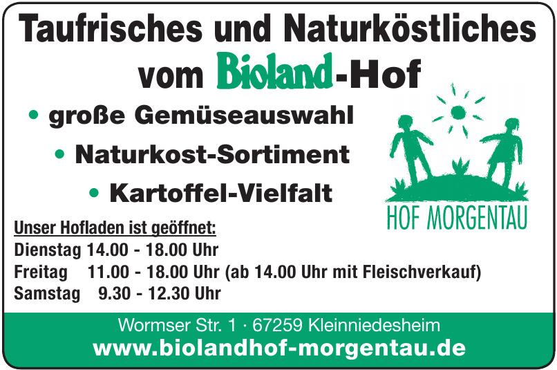 Bioland-Hof Morgentau