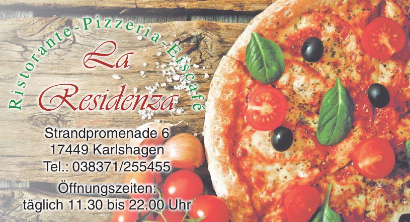 Ristorante-Pizzeria-Eiscafé La Residenza