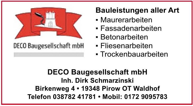 Deco Baugesellschaft mbH