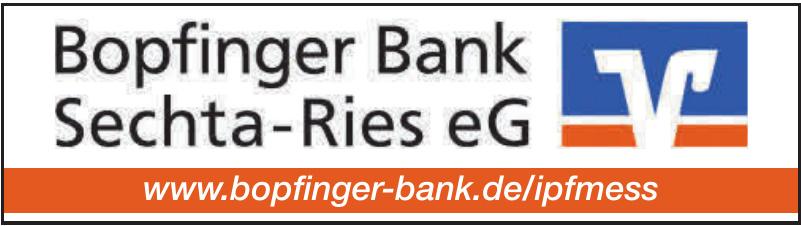 Bopfinger Bank Sechta-Ries eG