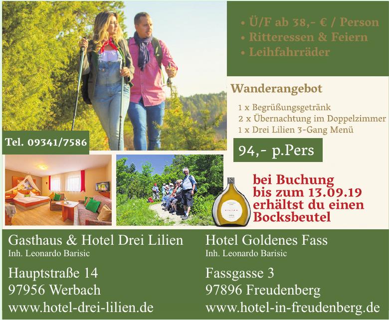Gasthaus & Hotel Drei Lilien