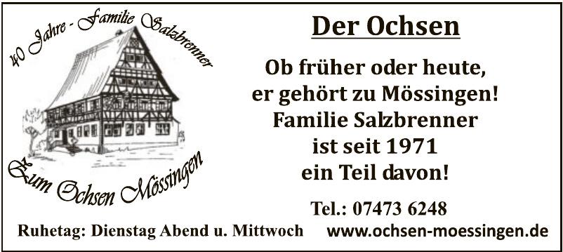 Gasthof zum Ochsen Mössingen