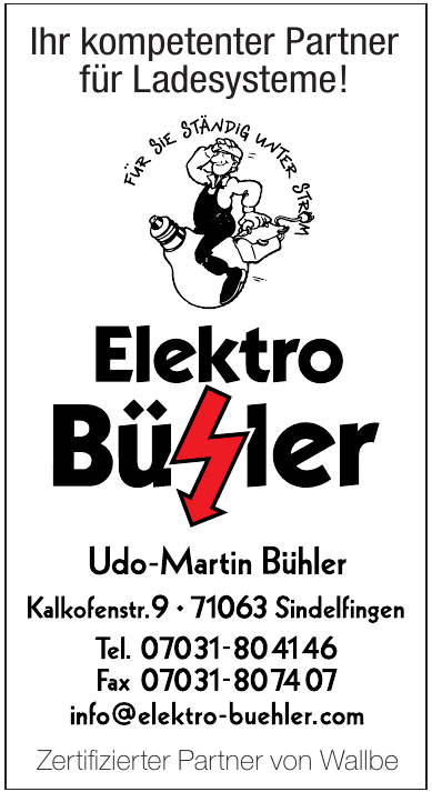 Udo-Martin Bühler Elektro