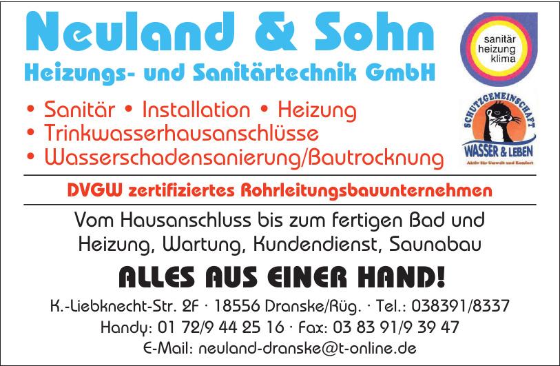 Neuland & Sohn Heizungs- und Sanitärtechnik GmbH