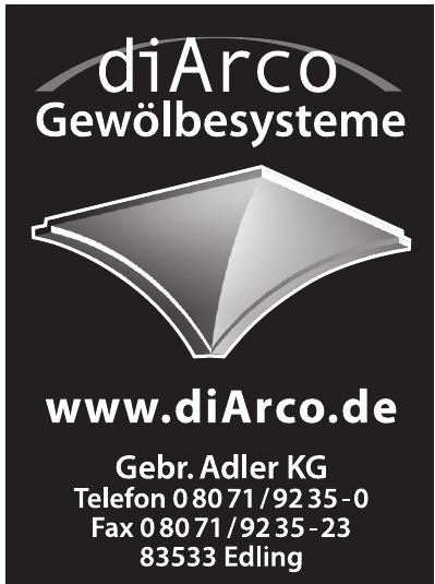 diArco Gewölbesysteme Gebr. Adler KG