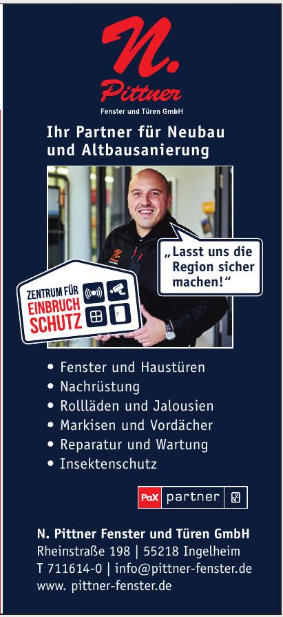 N. Pittner Fenster und Türen GmbH