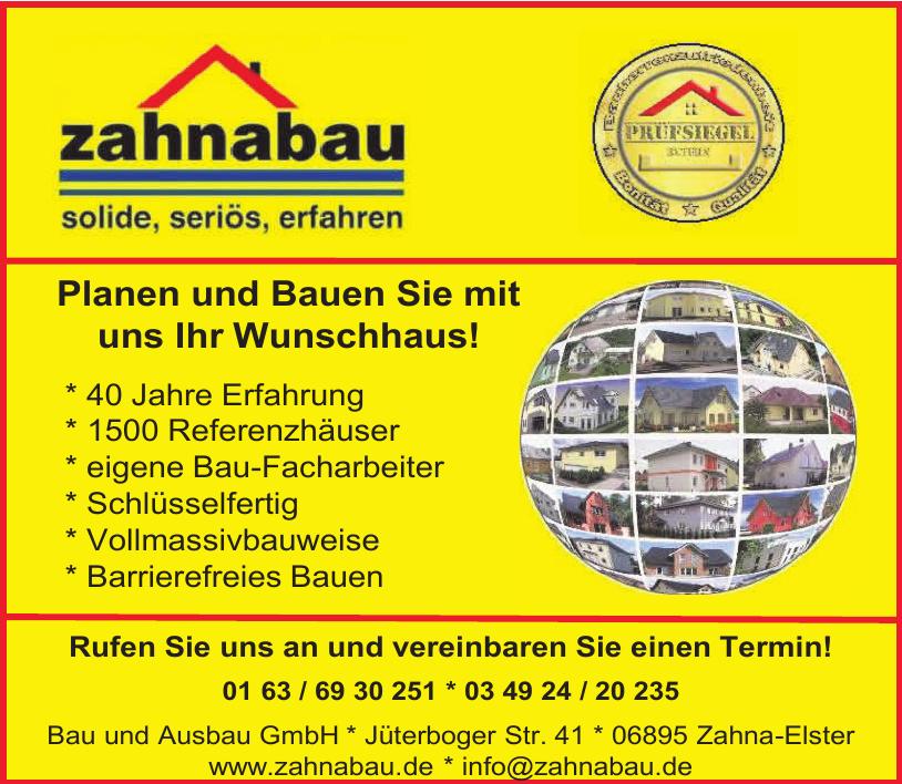Bau und Ausbau GmbH Zahna