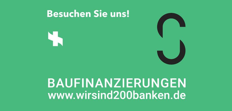 Wir sind 200 Banken