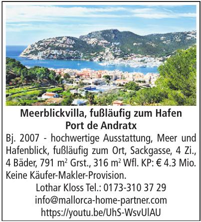 Meerblickvilla, Port de Andratx - Lothar Kloss