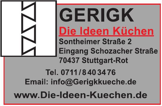 GERIGK Die Ideen Küchen