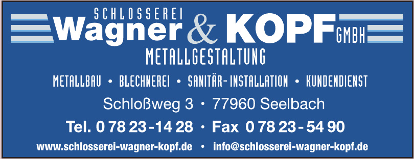 Schlosserei Wagner & Kopf GmbH