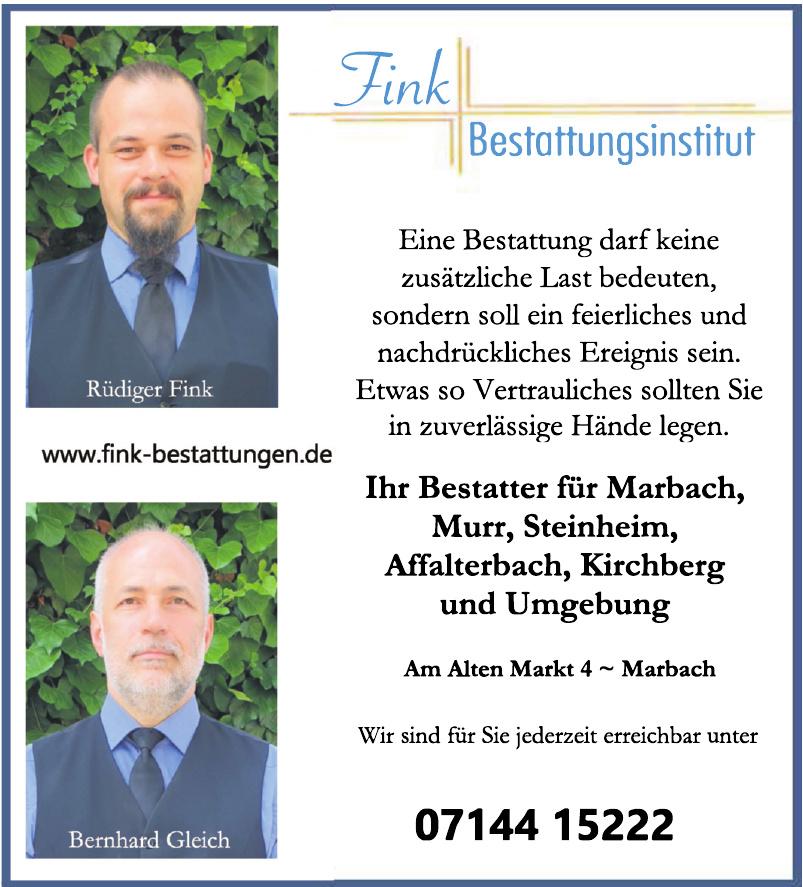 Fink Bestattungsinstitut