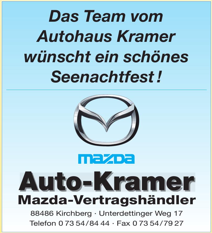 Auto-Kramer Mazda-Vertragshändler