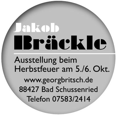 Jakob Bräckle