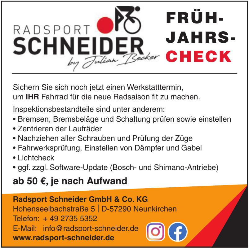 Radsport Schneider GmbH & Co. KG