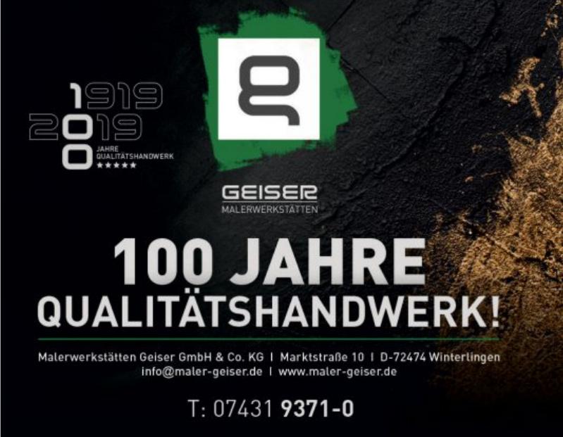 Malerwerkstätten Geiser GmbH & Co. KG